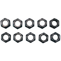 "(10) 3/8"" Nuts for (2) 12"" x 2"" Electric or Hydraulic Brakes For Axles with Bolts Attached"