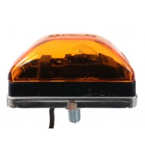 "2 1/16"" x 1 1/16"" - Amber - Marker Light"