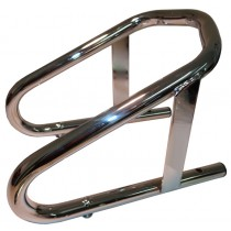 Chrome Removeable Motorcycle Chock