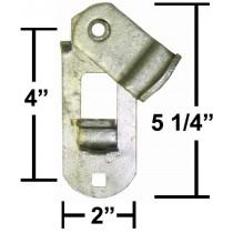 """2"""" Wide Trailer Cam Door Latch Lock"""