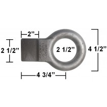 Pintle Eye with Tab