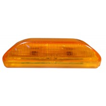 "3 3/4"" x 1 1/4"" - Amber - Marker Light"