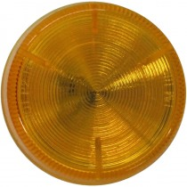 "2"" Round - Amber - Marker Light"