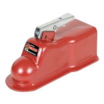 """Demco EZ-Latch® 21,000 lbs 2 5/16"""" Ball Weld On Straight Tongue Trailer Coupler - 3"""" Channel"""