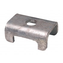 "Galvanized Spring Seat for 1 1/2"" Square Galvanized Axles"