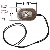 "Magnet Kit with Clip and Spring - Fits 12"" x 2"" Electric Brakes with Black Wire - 7K Capacity"