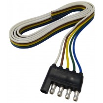 """48"""" Wire Harness - 5-Way Flat Connector - Trailer End"""