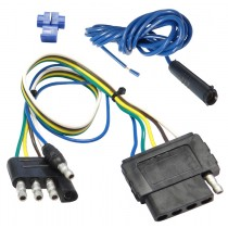 4-Way Flat to 5-Way Flat Connector Adapter