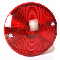 """Tail Light Round 3.75"""" w/ Tag Light - Can be used for Left or Right Sides"""
