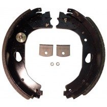"Dexter® Brake Shoe and Lining Kit for 12 1/4"" x 3 3/8"" Stamped Backing Plate Electric Brake - Right Hand (Curb Side) - 8,000 to 10,000 lbs. GD"