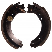 "Dexter® Brake Shoe and Lining Kit for 12 1/4"" x 3 3/8"" Cast Back Plate Electric Brake - Right Hand (Curb Side) - 8,000 to 10,000 lbs."