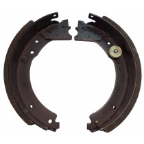 "Dexter® Brake Shoe and Lining Kit for 12 1/4"" x 3 3/8"" Cast Back Plate Electric Brake - Left Hand (Driver's Side) - 8,000 to 10,000 lbs."