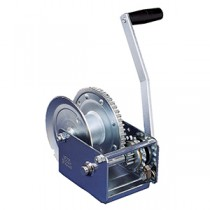 "Fulton 1,500 lbs. Deluxe Brake Winch with Covered Gears - 11"" Handle"