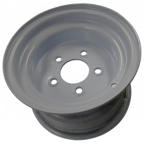 "10"" x 6"" Wide Painted Trailer Rim with 5 Lugs on 4 1/2"" Bolt Circle"