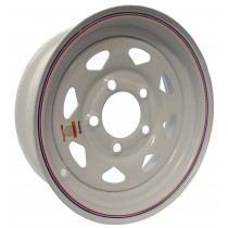 "12"" x 4"" Wide Painted Trailer Rim with 5 Lugs on 4 1/2"" Bolt Circle"
