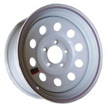 "15"" x 6"" Wide Painted Trailer Rim with 5 Lugs on 4 1/2"" Bolt Circle"