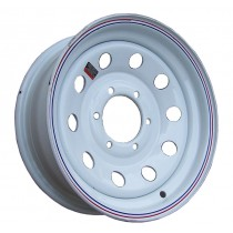 "16"" x 6"" Wide Painted Trailer Rim with 6 Lugs on 5 1/2"" Bolt Circle"