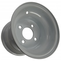 "8"" x 7"" Wide Painted Trailer Rim with 4 Lugs on 4"" Bolt Circle"