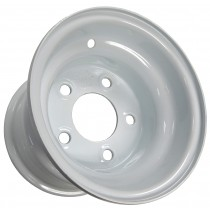 "8"" x 7"" Wide Painted Trailer Rim with 5 Lugs on 4 1/2"" Bolt Circle"