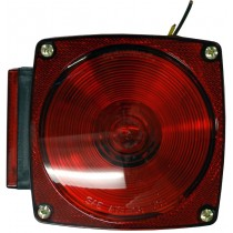 Left Tail Light with Tag Light & Wires - Driver Side - Not Submersible