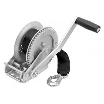"""Fulton 1,800 lbs. Single Speed Hand Winch with 20' Strap - 10"""" Handle"""