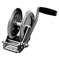 """Fulton 1,800 lbs. Single Speed Hand Winch Without Strap - 10"""" Handle"""