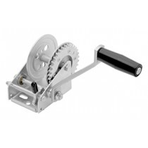 """Fulton 900 lbs. Single Speed Hand Winch Without Strap - 7"""" Handle"""