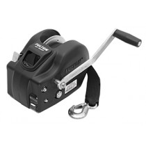 """Fulton 3,200 lbs. Two Speed Hand Winch With 20' Strap - 10"""" Handle"""