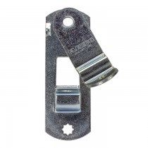 "2"" Wide Trailer Cam Door Latch Lock - 4 3/4"" Hole Center"