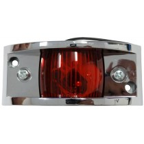"2"" x 1 1/2"" - Red - Marker Light"