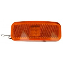 "4"" x 1 1/2"" - Amber - Marker Light"