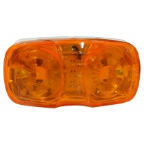 "4"" x 2"" - Amber - Marker Light"