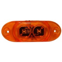 "4 1/2"" x 1 5/8"" - Amber - Marker Light"