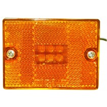 "2 3/4"" x 2 1/8"" - Amber - Marker Light"