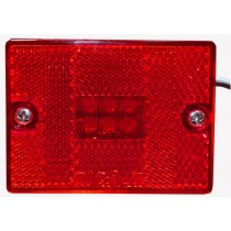 "2 3/4"" x 2 1/8"" - Red - Marker Light"