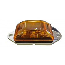 "2"" x 1"" - Amber - Ear Mount - Marker Light"