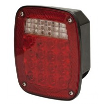LED Tail Light - Left with Tag Light - 38 LEDs total