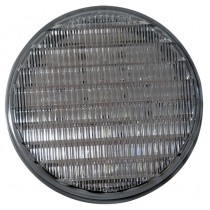 """4"""" Round LED Back-Up Light - 27 LEDs - Clear - Grommet and Plug Not Included"""