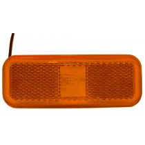 "1.5"" x 4"" - Amber - Marker Light"