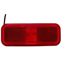 "1.5"" x 4"" - Red - Marker Light"