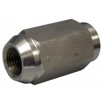 "1/2""-20 x 1 9/16"" Lug Nut - Solid Stainless Steel"