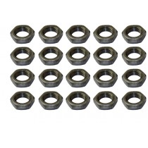 "1"" 14 Jam Nut Set of 20"