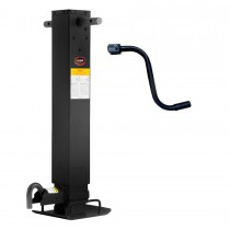 """12,000 lb. Capacity 4"""" Square Tube Side Wind Jack with Return Spring"""