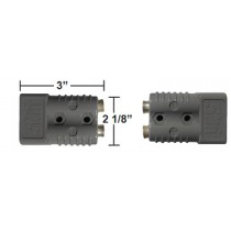 "Quick connect plug 3"" x 2 1/8"" 175 amp"