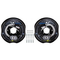 "Dexter Nev-R-Adjust 12"" x 2"" Electric Trailer Brake Kit - Left & Right Hand Assemblies - 6,000 lbs. Axle Capacity"