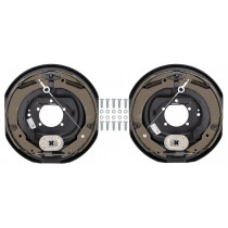 "TruRyde Self-Adjusting 12"" x 2"" Electric Trailer Brake Kit - Left & Right Hand Assemblies - 7,000 lbs. Axle Capacity"