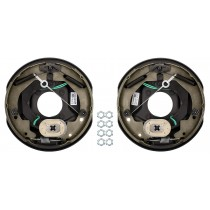 "TruRyde Self-Adjusting 10"" x 2.25"" Electric Brake Kit - Left & Right Hand Assemblies - 3,500 lbs. Axle Capacity"