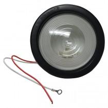 "Backup Light 4.25"" Round with Grommet & Plug"