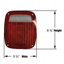 Tail Light Lens for ST60 - Screws Not Included
