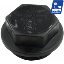 Tie Down Master Cylinder Fill Cap with Internal Bladder